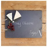 Cathy's Concepts 'Say Cheese' Slate Serving Board