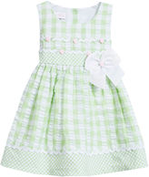Bonnie Baby Baby Girls' Seersucker Bow Dress