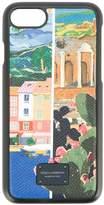 Dolce & Gabbana Sicilian print iPhone 8 case