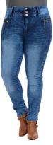 Celeste Blue High-Waist Jeans - Plus