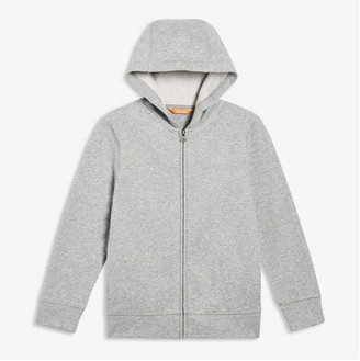 Joe Fresh Kid Boys Essential Hoodie, Light Grey Mix (Size S)