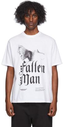 Undercover White Fallen Man T-Shirt