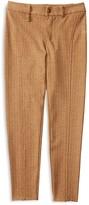 Ralph Lauren Girls' Herringbone Seamed Knit Pants - Sizes S-XL