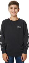 Rip Curl Kids Boys Stacked Vibes Crew Fleece Black