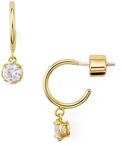 Kate Spade Mini Round Huggie Hoop Earrings