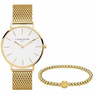 Liebeskind Berlin Watch and Bead Bracelet Set LS-0091-MQB