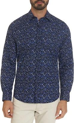 Robert Graham Gibbons Tailored-Fit Printed Shirt