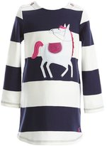 Joules Little Girls 1-6 Kaye Striped Horse Dress