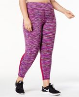 Ideology Plus Size Space-Dyed High-Rise Leggings, Created for Macy's