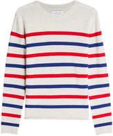 Velvet Jorge Striped Cashmere Pullover