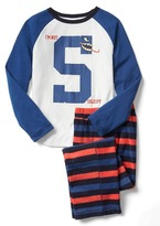 Gap Sleepy snake baseball PJ set