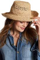 BCBGMAXAZRIA Open Weave Bucket Hat