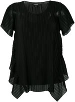 Emporio Armani pleated blouse - women - Polyester - 40