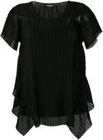 Emporio Armani pleated blouse - women - Polyester - 42