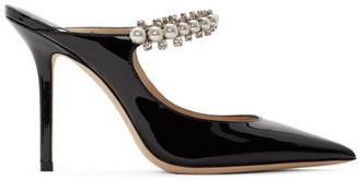 Jimmy Choo Black Patent Bing 100 Heels