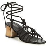 Topshop Women's 'Napoli' Block Heel Sandal