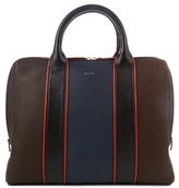 Paul Smith Colour-block Leather Piped Briefcase