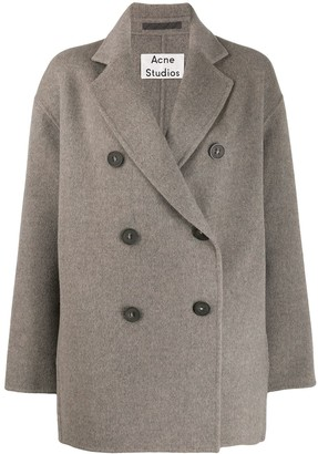 Acne Studios Short Double-Breasted Coat