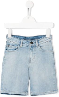 Zadig & Voltaire Kids Logo Denim Shorts