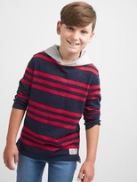 Gap Stripe slub hoodie