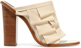 Tibi Chase tiered leather sandals