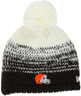 New Era Women's Cleveland Browns Polar Dust Knit Hat