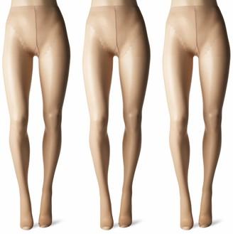 Hue Women's So Sexy Sheer 3-Pack Toeless Pantyhose