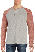 Lucky Brand Grey Label Henley Tee