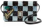 Marc Jacobs Denim Patchwork Wallet Crossbody