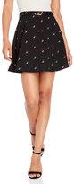 Yumi Cherry Owl Belted Skirt