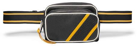 Givenchy MC3 Leather Belt Bag - Men - Black
