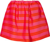 DELPOZO Striped jacquard mini skirt