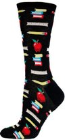 Hot Sox Women's Teacher's Pet Crew Trouser Sock