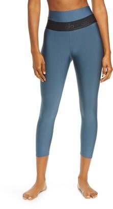 Alo High Waist Capri Fitness Leggings