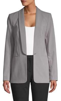 Calvin Klein Open-Front Long-Sleeve Blazer