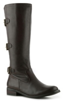 Two Lips Jammer Wide Calf Riding Boot