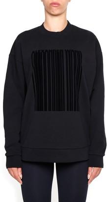 Alexander Wang Barcode Printed Sweatshirt