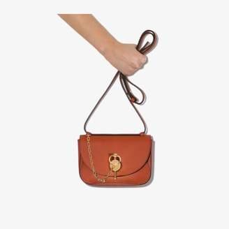 J.W.Anderson brown Keyts mini leather shoulder bag