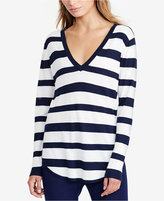 Lauren Ralph Lauren Petite Striped Sweater
