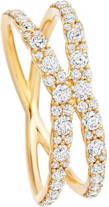 Astley Clarke Interstellar 14ct yellow-gold diamond fusion ring