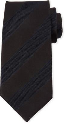 Tom Ford Mesh Stripes Silk Tie