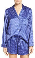 Women's In Bloom By Jonquil Print Satin Pajamas