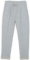 Little Karl Marc John Poggy Lurex Quilted Jogging Bottoms