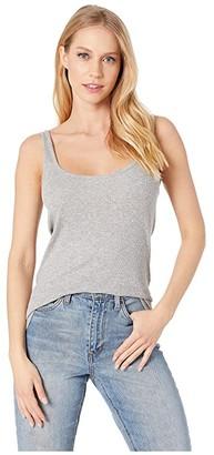 Current/Elliott Slim Tank (Heather Grey) Women's Clothing