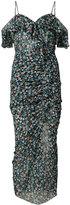 Veronica Beard cold shoulder floral dress - women - Silk - 4