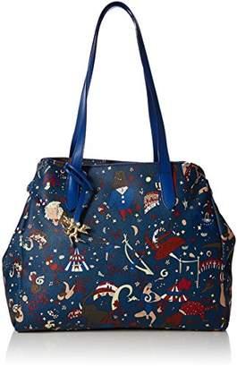 Piero Guidi Women's 210474038 Tote Bag Blue
