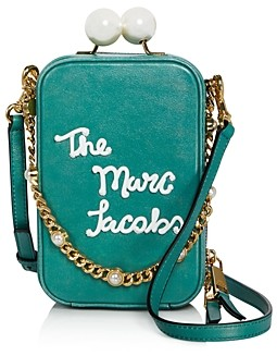 Marc Jacobs The Vanity Icing Leather Crossbody