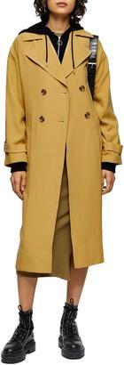 Topshop Tabatha Trench Coat