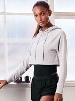 Victoria Sport Yoga Crop Drawstring Hoodie