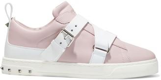 Valentino Garavani V-punk Studded Leather Sneakers